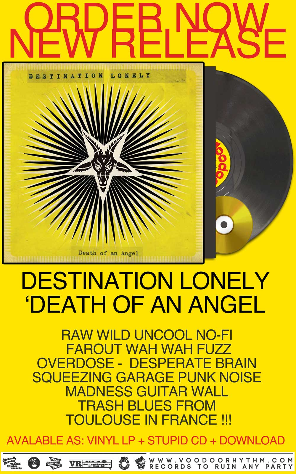 NEWS DESTINATION LONELY ANGEL